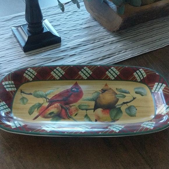 Lenox Earthenware Hors D'oeuvre tray